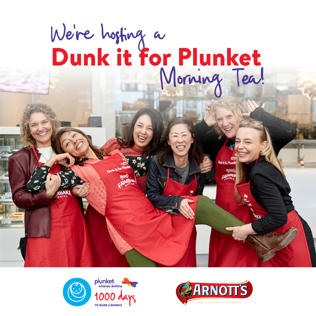Dunk it - We are hosting!